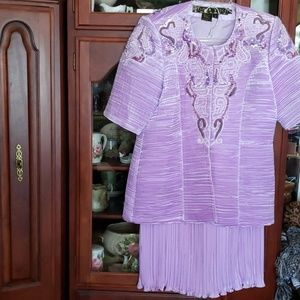 Nwts Donna Vinci Easter Church suit